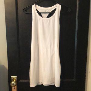 White, worn a few times Athleta tank top